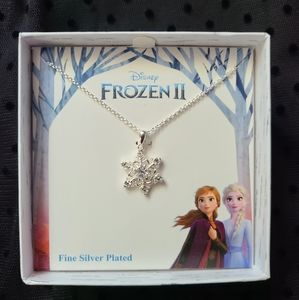 NEW Frozen necklace crystal